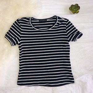 Brandy Melville Striped Jersey Shirt